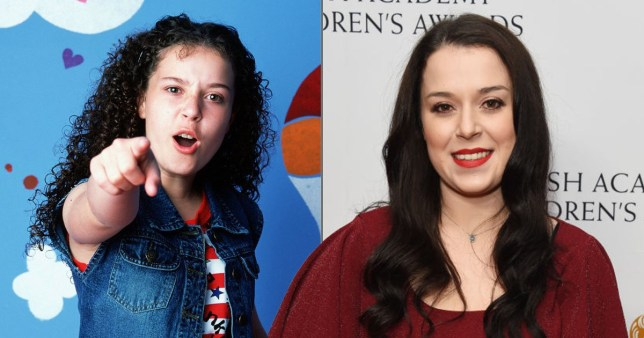 Dani Harmer can't wait to reprise her role as tracey beaker Pics: Getty/BBC