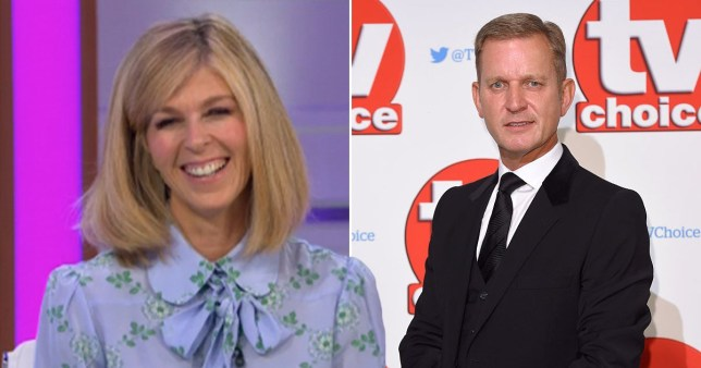 GMB: Kate Garraway thanks Jeremy Kyle for stepping in to help children see their grandparents Pics: Rex/ITV/Getty