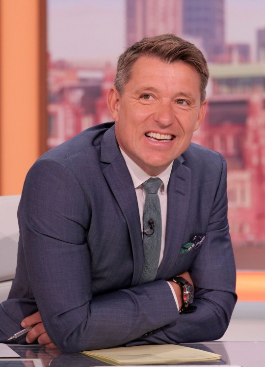 Editorial use only Mandatory Credit: Photo by Ken McKay/ITV/REX (10731344h) Ben Shephard 'Good Morning Britain' TV show, London, UK - 03 Aug 2020