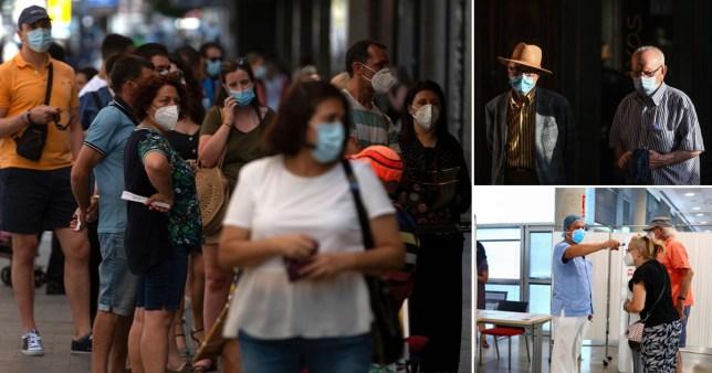 Une enquête révèle que le nombre de morts de Covid en Espagne est 16000 plus élevé que les chiffres officiels selon Reuters / Rex / AFP