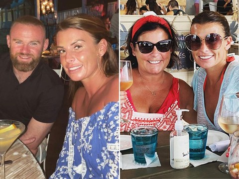 Coleen Rooney laughs off rumours she is pregnant again and blames it on 'unflattering' holiday photos