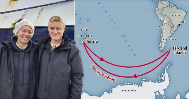 Stranded honeymoon couple hitchhike 5,000 miles home to New Zealand pics: AP/Metro.co.uk