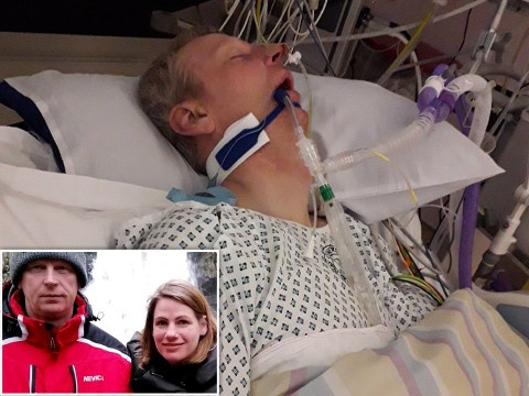 Hero wife brings husband back to life with CPR an hour after he 'died'