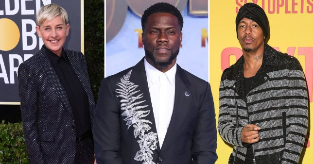 Kevin Hart defends his support of Ellen DeGeneres and Nick Cannon