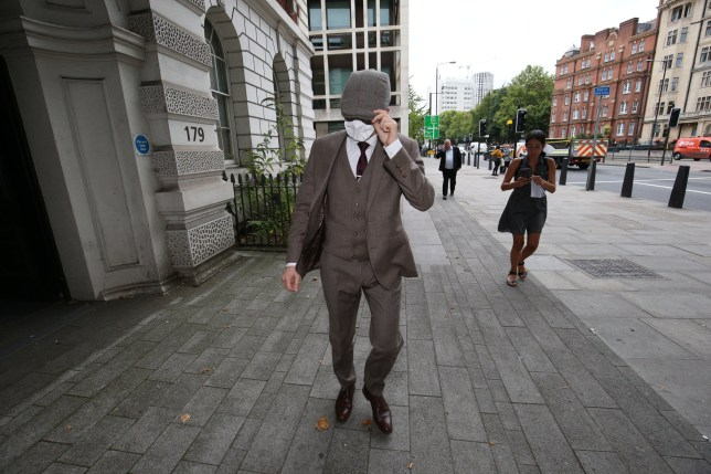 Probationary Metropolitan Police officer Benjamin Hannam, 22, of Galahad Road, Enfield, north London, leaves Westminster Magistrates' Court, London, where he appeared in court charged with being a member of the banned neo-Nazi group National Action. PA Photo. Picture date: Thursday August 6, 2020. Hannam, is also accused of lying on his police application and vetting forms, saying he was not a member of the extreme organisation, which was outlawed under terrorism legislation in December 2016. See PA story COURTS Hannam. Photo credit should read: Jonathan Brady/PA Wire