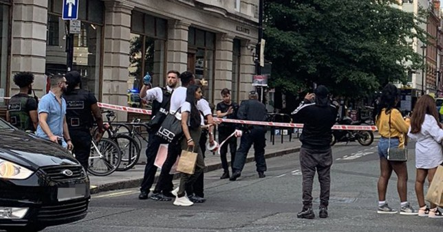 Oxford Street stabbing