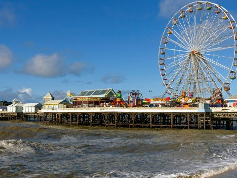 Blood found on pier in hunt for girl feared to have walked into the sea