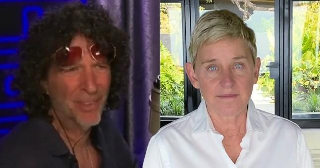 Howard Stern advises Ellen DeGeneres to 'just be a p***k' after backlash pics: Warner Bros./Fox