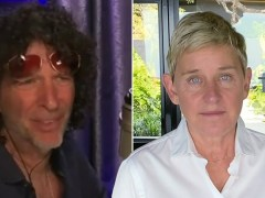 Howard Stern tells Ellen DeGeneres to 'just be a p***k' after toxic work environment claim