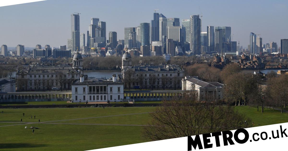 UK to plunge into recession tomorrow as coronavirus sparks record slump - metro