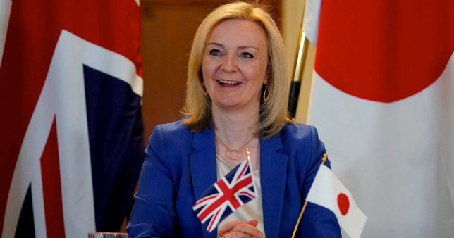 Liz Truss wants trade talks with Japan to include blue cheese