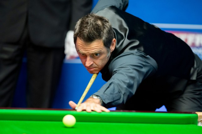 Exclusive Mandatory Credit: Photo by Benjamin Mole/WST/REX (10740574n) Ronnie O'Sullivan Exclusive - Betfred World Snooker Championship, Day Twelve, Crucible Theatre, Sheffield, UK - 11 Aug 2020