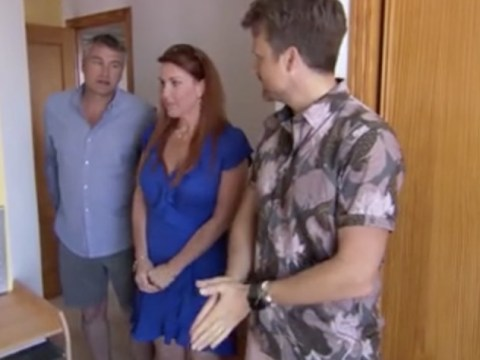 A Place In The Sun gets awkward as unimpressed couple cut apartment block viewing short: 'It's not for us'