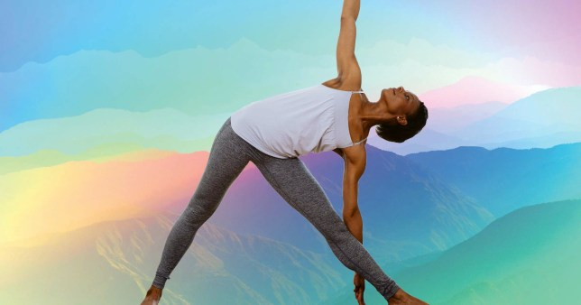 Yoga helps with anxiety