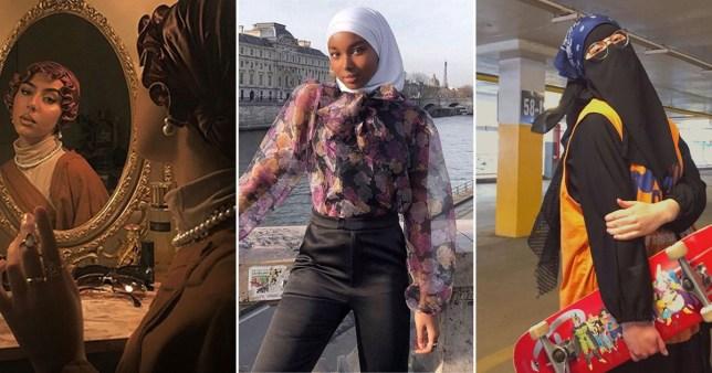 Hijabi women killing the fashion game