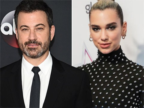 Jimmy Kimmel claps back at troll who tried to insult guest host Dua Lipa