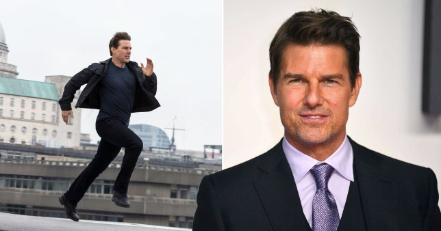 Tom Cruise doesn't let anyone run on screen with him