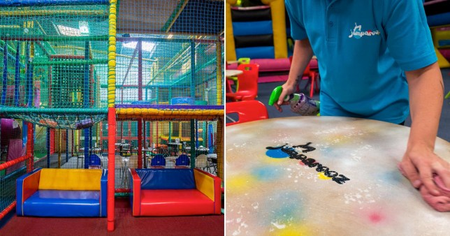 Boris Johnson gave the go ahead for soft play centres to reopen on August 14.
