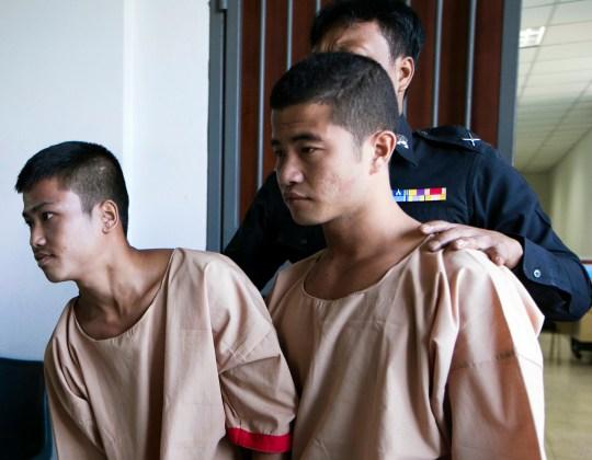 Win Zaw Htun et Zaw Lin ont été condamnés à mort.