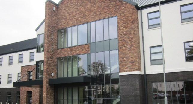 Picture shows Aspen Medical Centre.