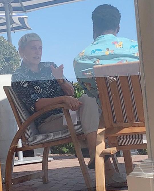 Ellen and Kevin Hart