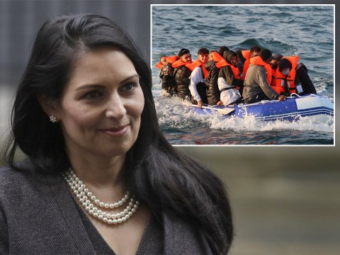 Priti Patel claims migrants see France as a 'racist' country