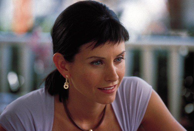 Courteney Cox as Gale Weathers in Scream 3