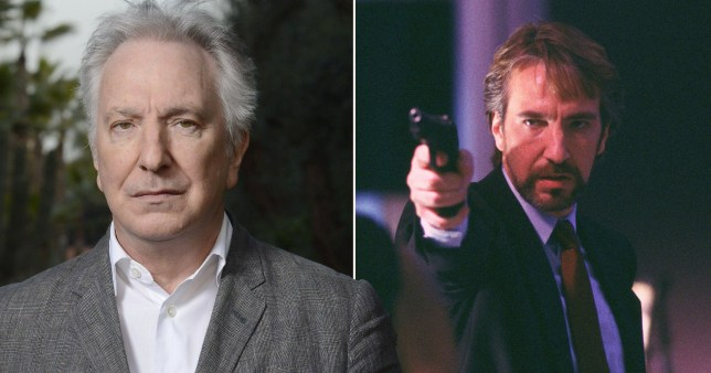Alan Rickman would have people 'spit in his face' after playing Die Hard terrorist (Picture: Rex)