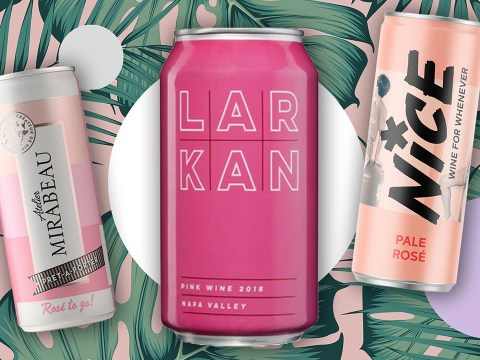 The best canned rosé wines to enjoy at home
