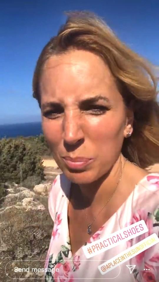 Jasmine Harman suffers wardrobe malfunction on A Place In The Sun amid 'impractical' move