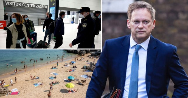 Tourists from Croatia now face quarantine - but Portugal added to safe list