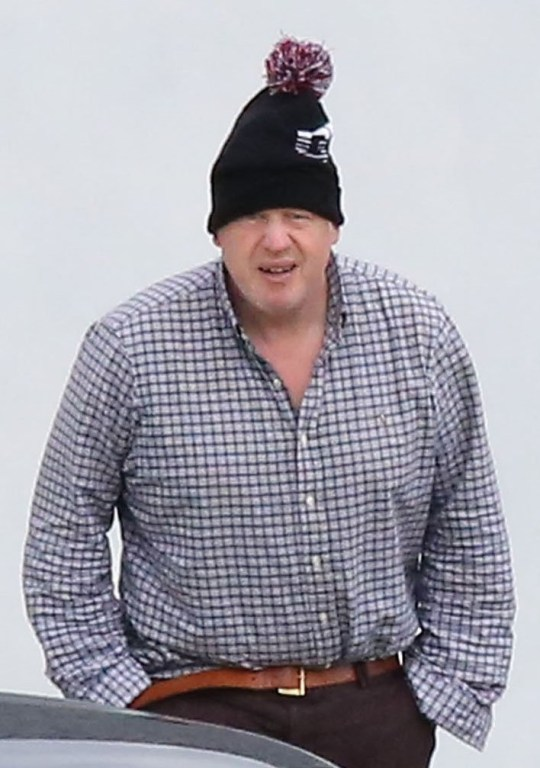 Boris Johnson at Applecross.