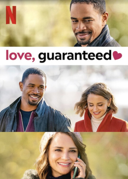 Love, Guaranteed poster and trailer