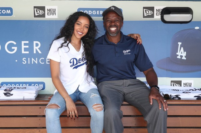 Tinashe and her dad