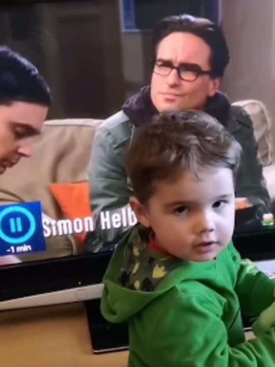 Child thinks his dad is Leonard from The Big Bang Theory