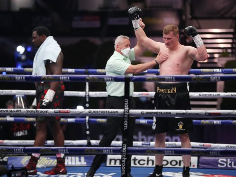 Dillian Whyte loses world title shot after being knocked out by Alexander Povetkin in shock defeat