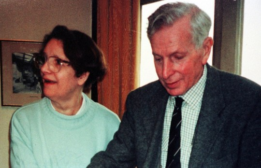 A police-issued photograph of Donald Leslie Ward and his wife Auriel, who were found murdered at their home in Lacey Grove, Wilmslow, Cheshire. A murder inquiry was under way after their bodies were found to have died from multiple injuries. * ...including stab wounds. Police said the bodies were found in the house in the Lacey Green area of Wilmslow, Cheshire, on 26/11/99 evening.