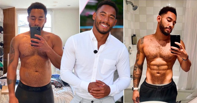 Love Island's Josh Denzel reveals six-week body transformation
