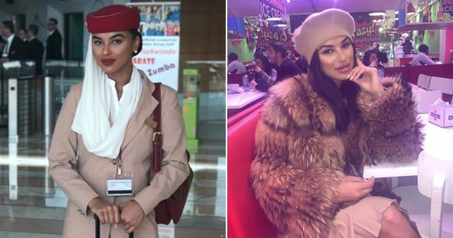 Brit air hostess freed Pictures: Derrin Crawford/Instagram