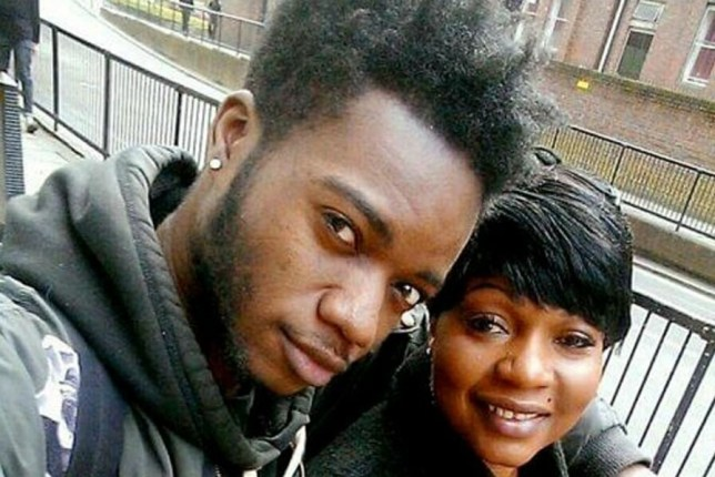 Pic shows both Annie Besala Ekofo and Bervil. A cowardly assassin crept into a family home and executed an innocent mother-of-nine and her nephew as part of a 'vendetta of violence'. Obina Ezeoke, allegedly sneaked through the unlocked door of a flat on a north London estate and shot 21-year-old psychology student Bervil Kalikaka-Ekofo in the back of the head. He then blasted Annie Besala Ekofo, 53, in the chest when she came out of her bedroom dressed only in her underwear as he fled the scene. SEE STORY CENTRAL NEWS