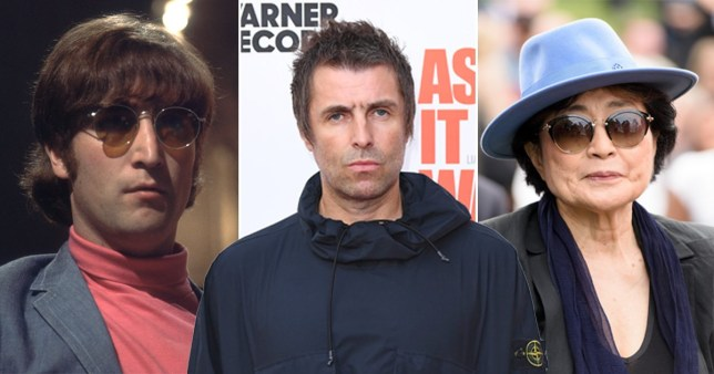 Yoko Ono told Liam Gallagher it was 'silly' to name his son after John Lennon