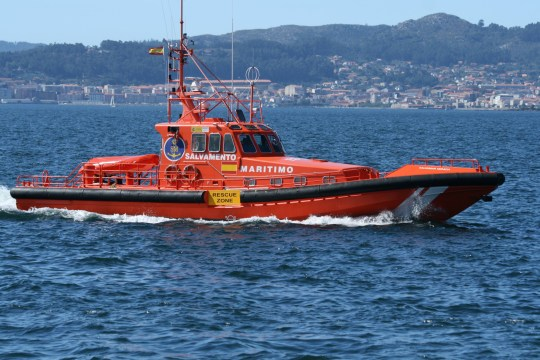 Bateau de sauvetage Salvamento Maritimo (Photo: Contando Estrelas)