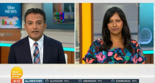 Adil Ray on Good Morning Britain
