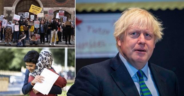Boris slammed for 'avoiding responsibility' as top civil servant sacked over exams fiasco (Picture: Getty)