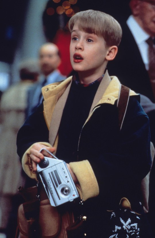 Macaulay Culkin in Home Alone 2: Lost In New York