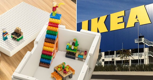 Lego and Ikea announce new collaboration of boxes and an exclusive brick set Pics: Ikea/Lego/Getty
