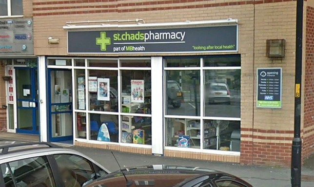 St Chad?s chemist in Oldham (Picture: Google)