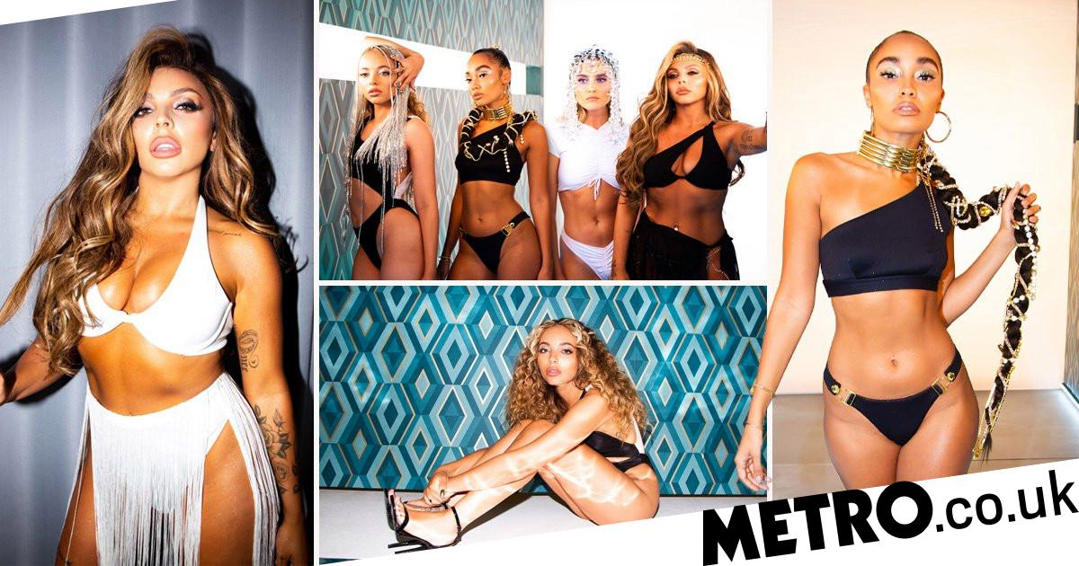 Little Mix Look Unreal In First Pics From Upcoming Holiday Music Video Metro News