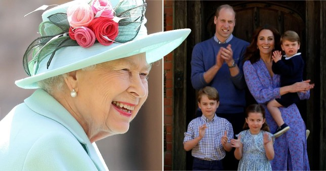 Queen 'reunited with William, Kate and children for first time in six months'