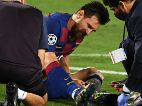 Barcelona boss Quique Setien provides Lionel Messi injury update after win over Napoli